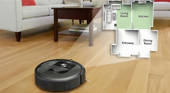 IROBOT Roomba i7+ i7558 (i755840), fiche technique, prix et avis