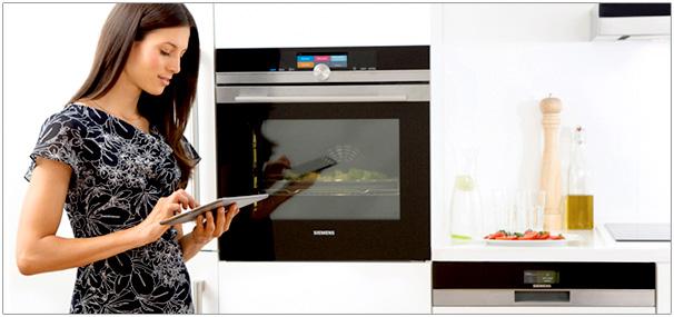 Photo de la technologie Home Connect - (crédit : Bosch)
