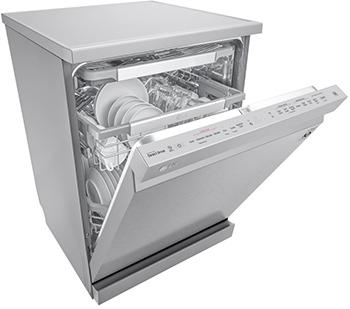Illustration du lave-vaisselle LG SteamClean - (crédit : LG)