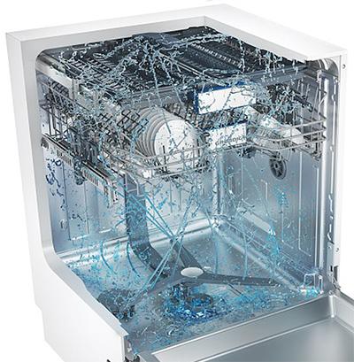 Photo du du lave-vaisselle Grundig GNV 44835 avec système CornerWash