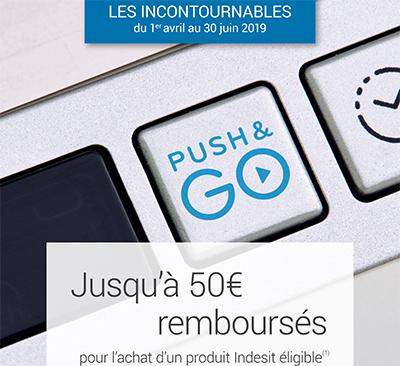 ODR électroménager Indesit : jusqu'à 50 euros remboursés