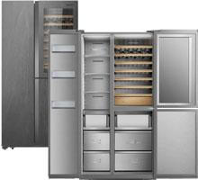 Photo du réfrigérateur RQ737N4AF2 - (crédit : Hisense )