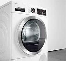 Illustration d'un sèche-linge Bosch AutoClean - (crédit : Bosch)
