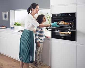 Photo d'un four Dual Cook Flex - (crédit : Samsung)