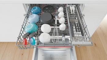Photo d'un lave-vaisselle Bosch PerfectDry connecté - (crédit : Bosch)