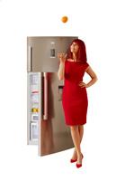IFA 2015 : Réfrigérateur Home Cream Doppelturer Beko DN 162230 DVIZX