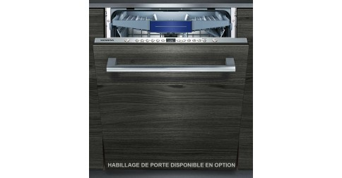 siemens sn636x02ke sn 636 x 02 ke fiche technique prix et avis. Black Bedroom Furniture Sets. Home Design Ideas