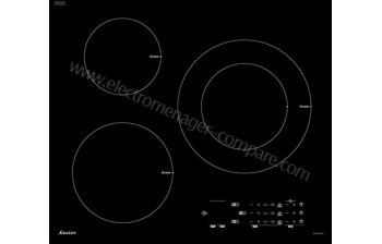 Rayure sur plaque induction faure feifsa table induction achat vente plaque induction cdiscount - Tache incrustee plaque induction ...
